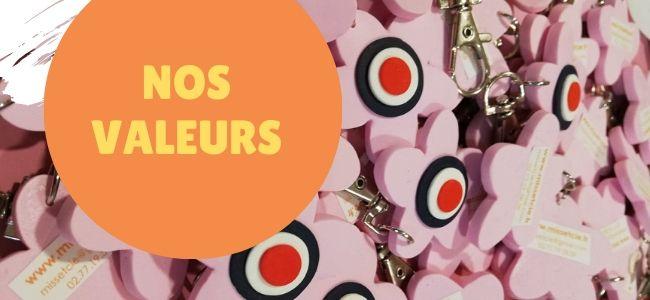 Les valeurs de Miss & Cie France